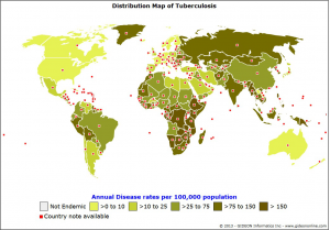 Tuberculosis-disease-rate-distribution-map-by-GIDEON